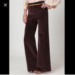 Anthropologie high waist wide leg corduroy pants 2